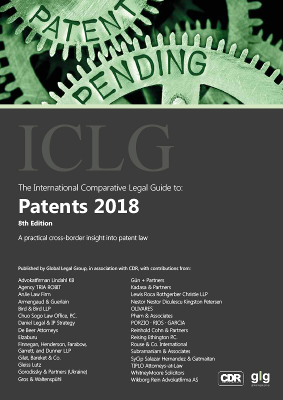 The International Comparative Legal Guide to: Patents 2018
